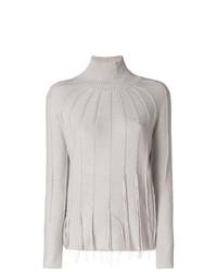 Jersey de cuello alto gris de Fabiana Filippi