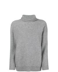 Jersey de cuello alto gris de Incentive! Cashmere