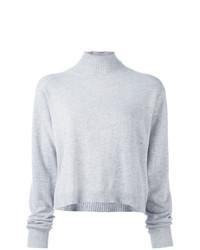 Jersey de cuello alto gris de Le Kasha
