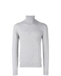 Jersey de cuello alto gris de Peuterey