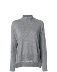 Jersey de cuello alto gris de Pinko