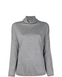 Jersey de cuello alto gris de Snobby Sheep