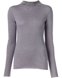Jersey de Cuello Alto Gris de The Row