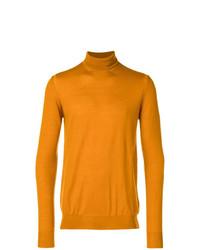 Jersey de cuello alto naranja de Paolo Pecora