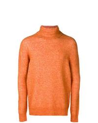 Jersey de cuello alto naranja de Roberto Collina