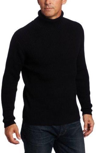 Jersey de cuello alto negro de Alex Stevens