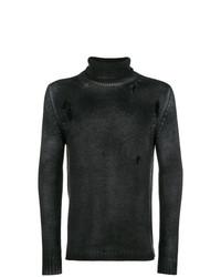 Jersey de cuello alto negro de Avant Toi