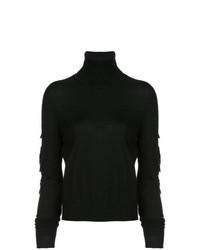 Jersey de cuello alto negro de Barrie