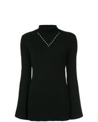 Jersey de cuello alto negro de Ellery