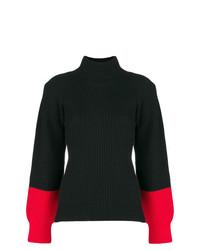 Jersey de cuello alto negro de Eudon Choi