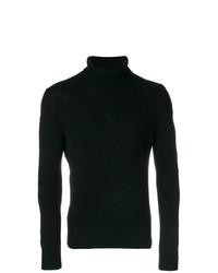 Jersey de cuello alto negro de La Fileria For D'aniello
