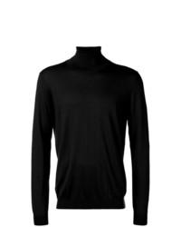 Jersey de cuello alto negro de Laneus