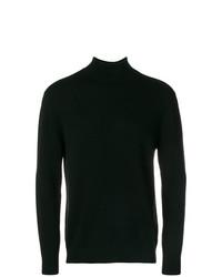 Jersey de cuello alto negro de N.Peal