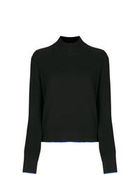 Jersey de cuello alto negro de Rag & Bone