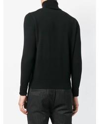 Jersey de cuello alto negro de Ballantyne