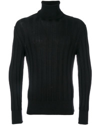 Jersey de Cuello Alto Negro de Tom Ford