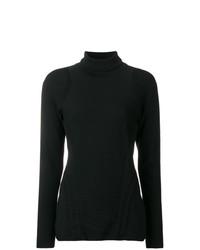 Jersey de cuello alto negro de Y-3