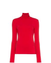 Jersey de cuello alto rojo de Calvin Klein 205W39nyc