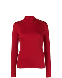 Jersey de cuello alto rojo de EACH X OTHER