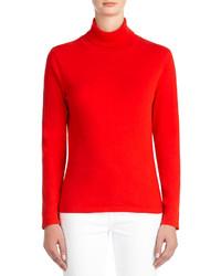 Jersey de Cuello Alto Rojo de Jones New York