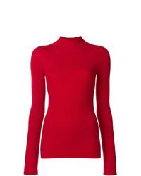 Jersey de cuello alto rojo de Juun.J