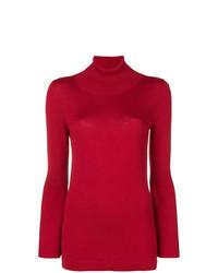 Jersey de cuello alto rojo de Sottomettimi