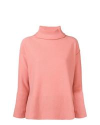 Jersey de cuello alto rosado de Antonelli
