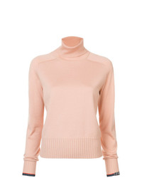 Jersey de cuello alto rosado de Proenza Schouler