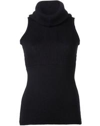 Jersey de cuello alto sin mangas medium 214060