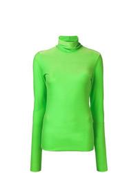 Jersey de cuello alto verde de Marios