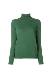 Jersey de cuello alto verde de N.Peal