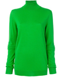 Jersey de cuello alto verde de Stella McCartney