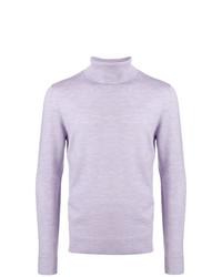 Jersey de cuello alto violeta claro de A.P.C.