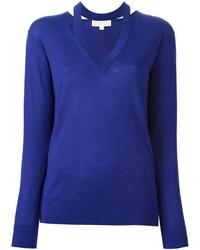 Jersey de lana azul de MICHAEL Michael Kors