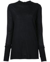 Jersey de lana negro de Dion Lee