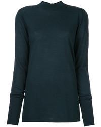 Jersey de lana verde oscuro de Dion Lee