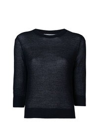 Jersey de manga corta azul marino de Vince