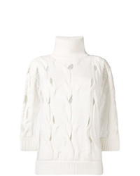 Jersey de manga corta blanco de Blumarine