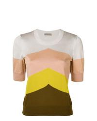 Jersey de manga corta en multicolor de Bottega Veneta