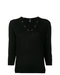 Jersey de manga corta negro de Cavalli Class
