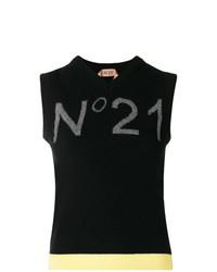 Jersey de manga corta negro de N°21