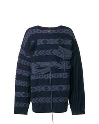 Jersey de ochos azul marino de Calvin Klein 205W39nyc