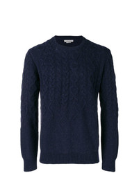 Jersey de ochos azul marino de Corneliani