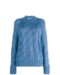 Jersey de ochos azul de Prada