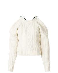 Jersey de ochos blanco de Calvin Klein 205W39nyc
