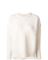 Jersey de ochos blanco de Moncler