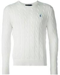 Jersey de ochos blanco de Polo Ralph Lauren