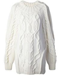 Jersey de ochos blanco de Vera Wang