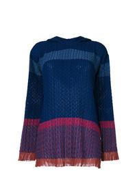 Jersey de ochos de rayas horizontales azul marino de Stella McCartney