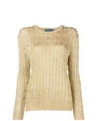 Jersey de ochos dorado de Polo Ralph Lauren
